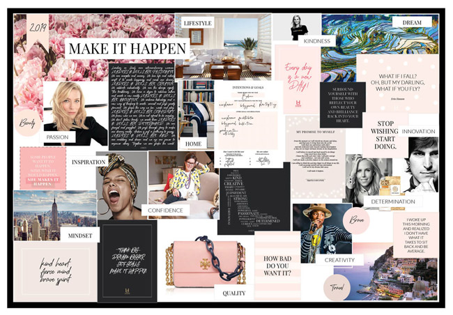 Vision Board from Pinterest